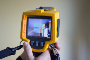 Energy Audit infrared camera