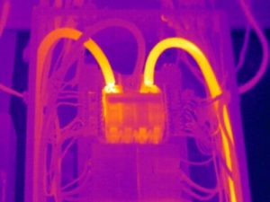 Energy audits thermal image