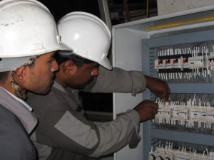 industrial installation wiring electrician